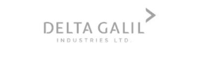 gray Delta Galil company logo