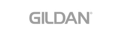 gray Gildan company logo