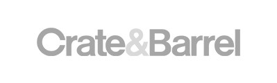 gray crate & barrel company logo