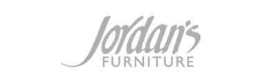 gray Jordan's Furniture Company logo