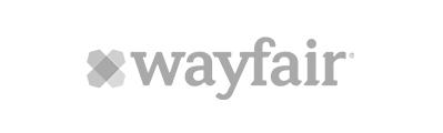 gray Wayfair company logo
