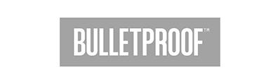 gray Bulletproof Company Logo