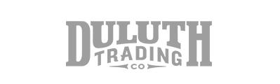 gray Duluth Trading company logo