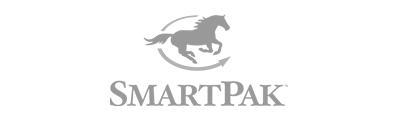 gray SmartPak company logo