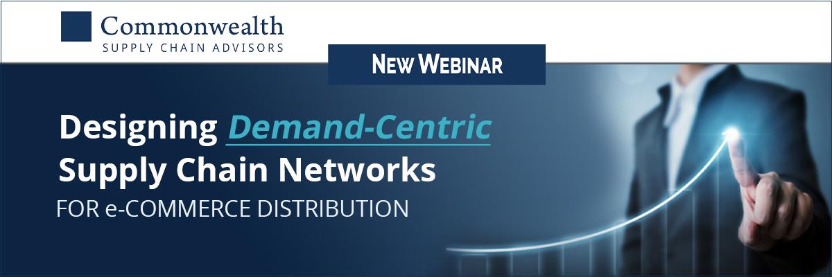 Demand-Centric Supply Chain Webinar